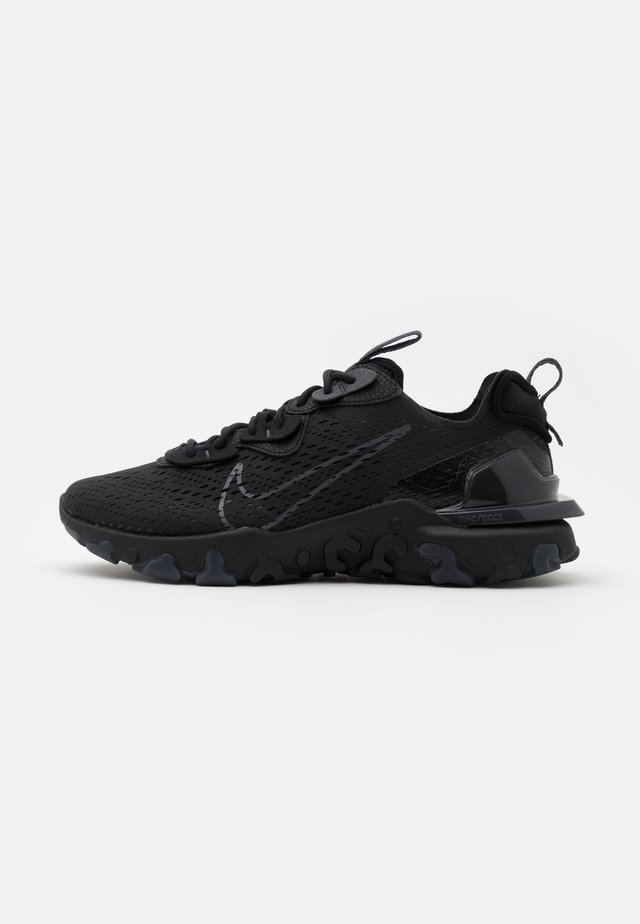REACT VISION  - Sneakers laag - black/anthracite