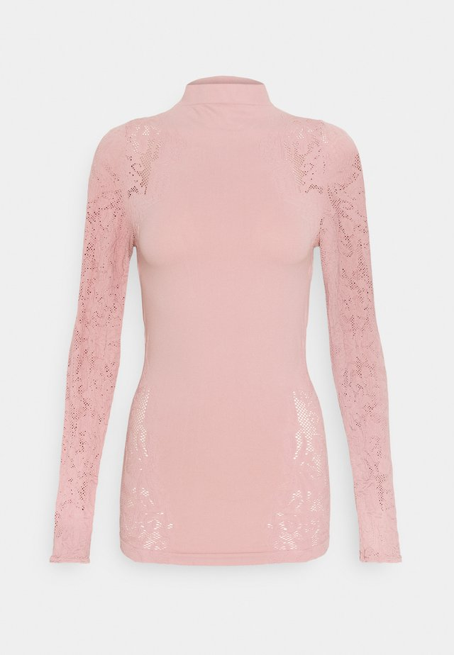 NO TURNING BACK  - Long sleeved top - dusty rose