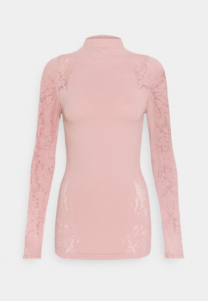 Free People - NO TURNING BACK  - Long sleeved top - dusty rose