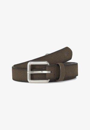 Belt - brown uni