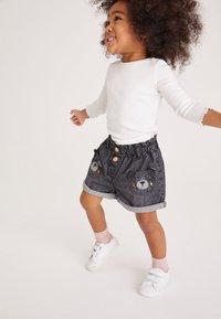 Next - Denim shorts - grey denim - 2