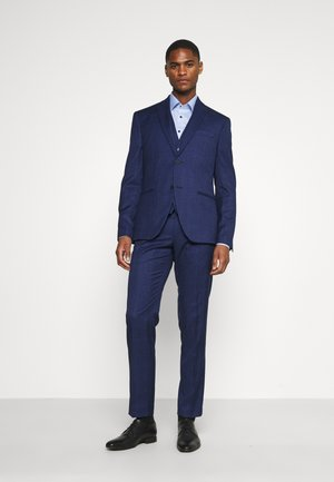 CHECK SUIT - Garnitur - blue