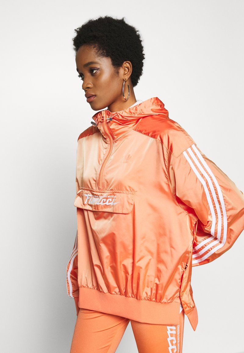adidas Originals - Vindjakke - semi coral