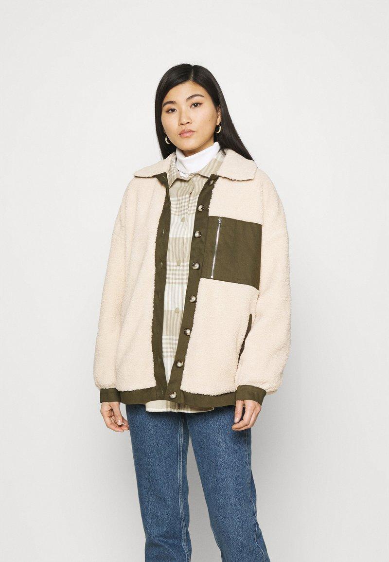 Freequent - FQVIVI - Light jacket - birch/olive