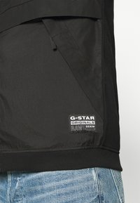 G-Star - MIXED BASEBALL ZIP THROUGH - Bomberjacks - black - 3