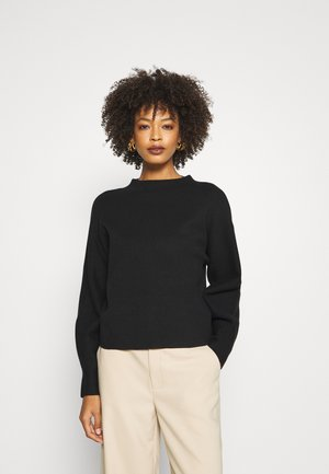 PIEKE - Jumper - black