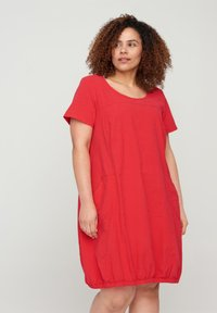 Zizzi - Day dress - red - 0