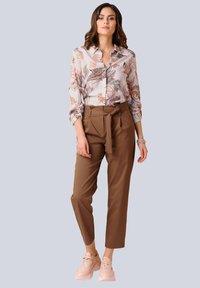 Alba Moda - Button-down blouse - rosé braun - 1