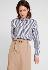Seidensticker - FASHION - Button-down blouse - dark sapphire - 0