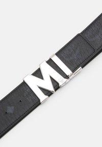 MCM - CLAUS REVERSIBLE BELT UNISEX - Belt - black - 3