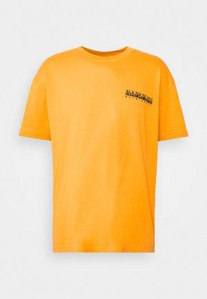YOIK UNISEX - T-shirts med print - yellow solar