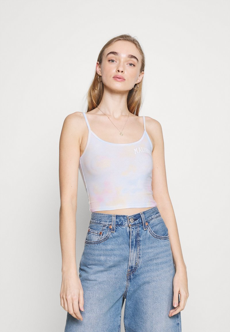 Hollister Co. - BARE GRAPHIC BABY - Top - wash