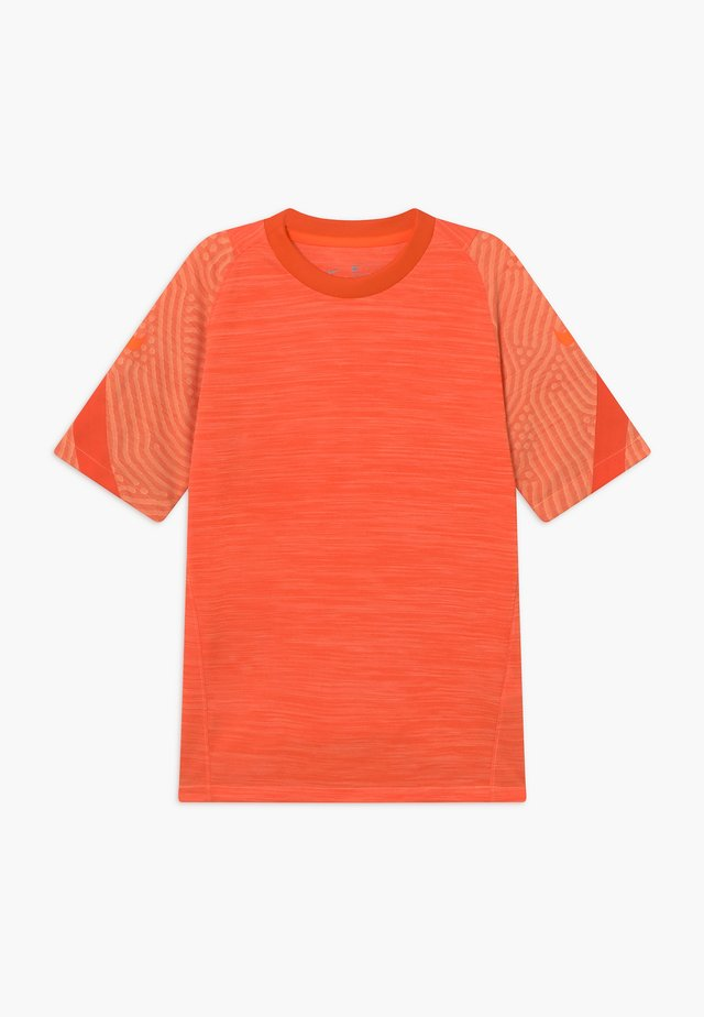 Print T-shirt - melon tint/total orange