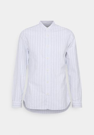 SLHSLIMMILTON STRIPES - Formal shirt - dark blue