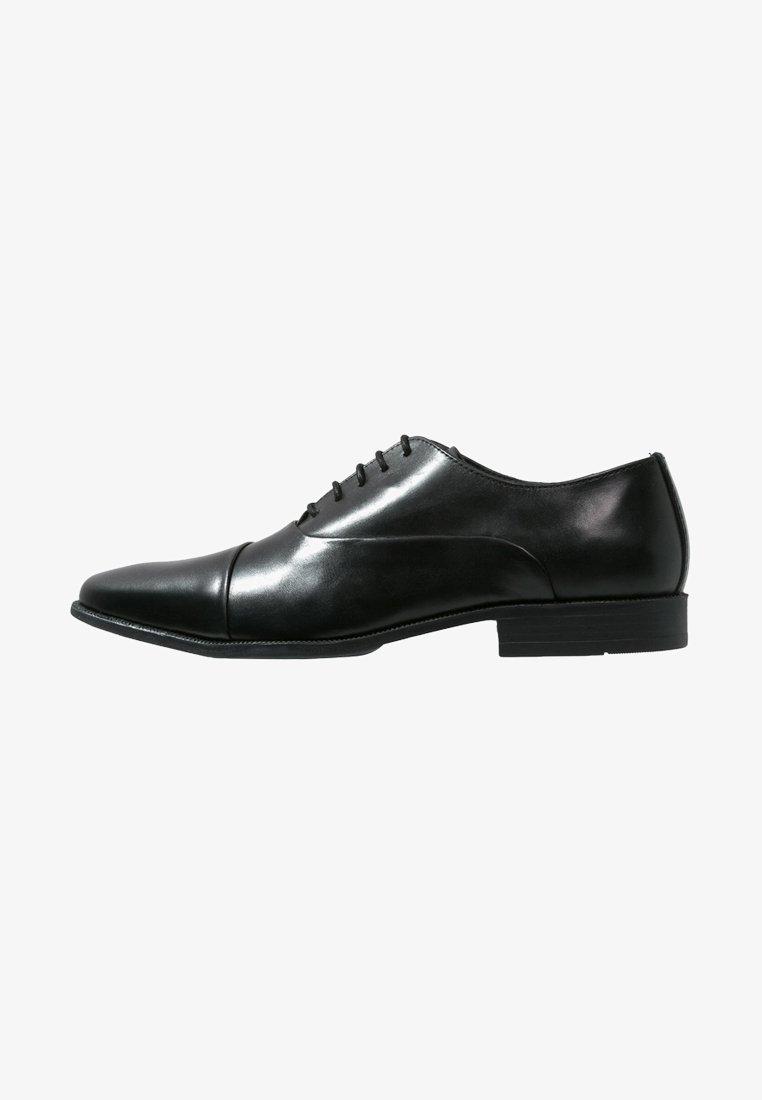 Pier One - Elegantní šněrovací boty - black
