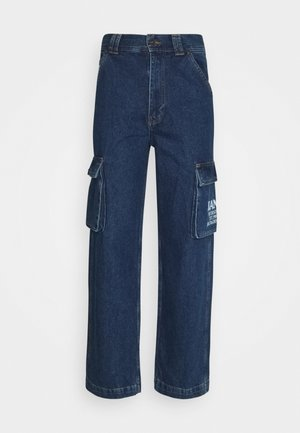 BAGGY - Relaxed fit jeans - blue