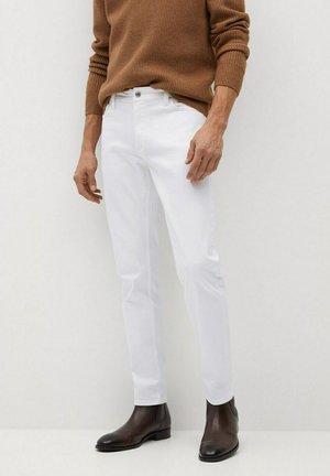 JAN - Džíny Slim Fit - blanco