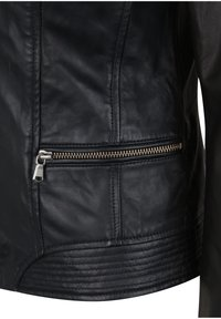7eleven - TERRY - Leather jacket - black - 5
