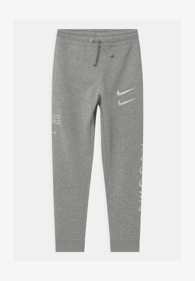 Pantalon de survêtement - dark grey/white