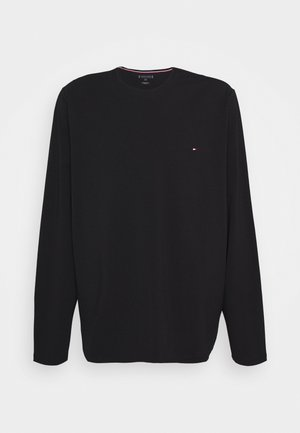 STRETCH LONG SLEEVE TEE - Langarmshirt - black