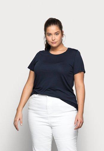 KCANELI U NECK - Basic T-shirt - midnight marine