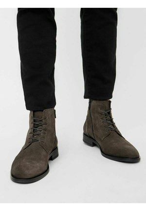 LACE UP BOOT - Lace-up ankle boots - darkgrey1
