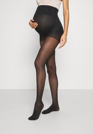 MATERNITY COMPRESSION TIGHTS - Medias - black