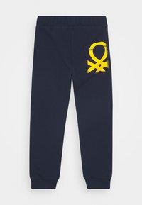 Benetton - BASIC BOY - Pantalones deportivos - dark blue - 1