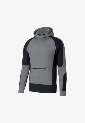 Sweat à capuche - medium gray heather