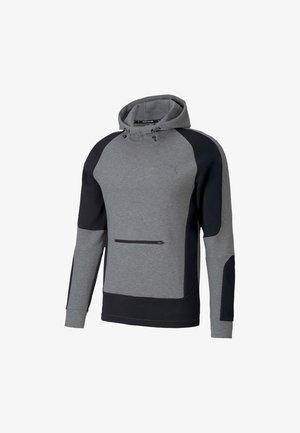 Kapuzenpullover - medium gray heather