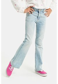 WE Fashion - Flared Jeans - blue - 1