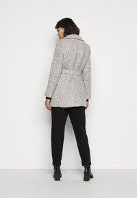 New Look Petite - COLLAR COAT - Kåpe / frakk - mid grey - 4