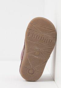 Froddo - Lær-at-gå-sko - bordeaux - 5