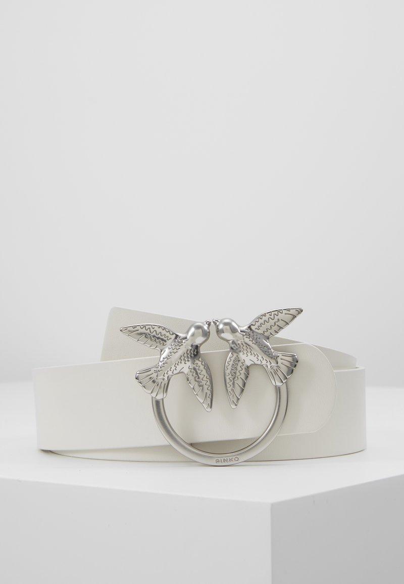 Pinko - BERRI SIMPLY BELT - Belte - white