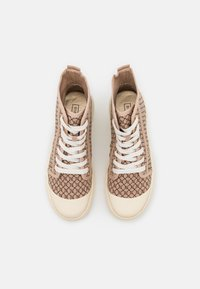 River Island - Lace-up ankle boots - beige - 5