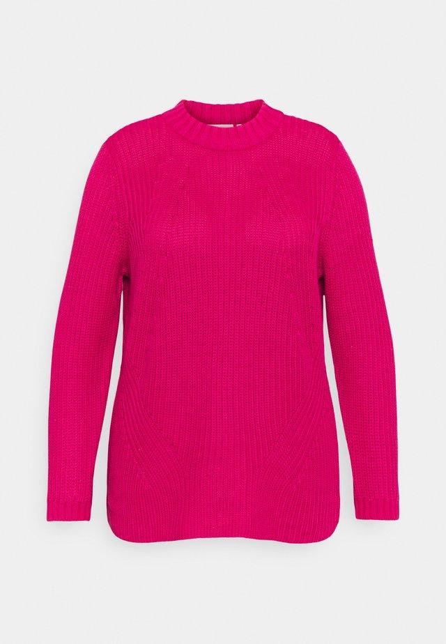 CARLEILA LIFE - Sweter - pink peacock