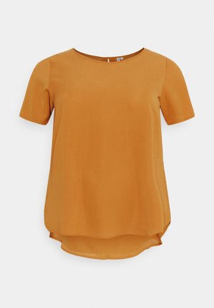 CARLUXMILA SOLID - Basic T-shirt - glazed ginger