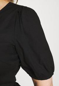 ONLY Carmakoma - CARMILLE LIFE DRESS - Day dress - black - 3