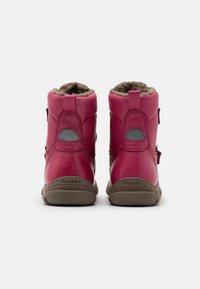 Froddo - LINZ TEX MEDIUM FIT - Zimní obuv - fuxia - 2