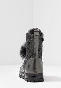 Primigi - Šněrovací kotníkové boty - asfalto/nero - 4