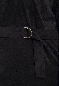Noisy May Curve - NMMICK SHORT DRESS CURVE - Day dress - black - 5