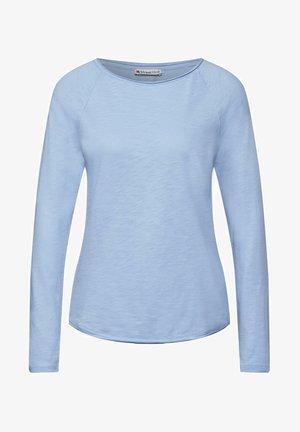 LÄSSIGEM LOOK - Long sleeved top - blau