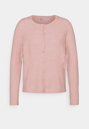 ONLRICA LIFE BUTTON - Cardigan - misty rose/ melange