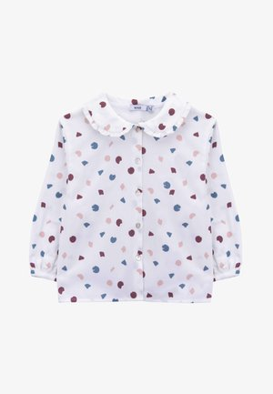 HAPPA  - Button-down blouse - white