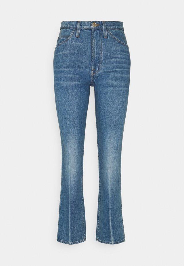 LE ITALIEN - Straight leg jeans - pure blue