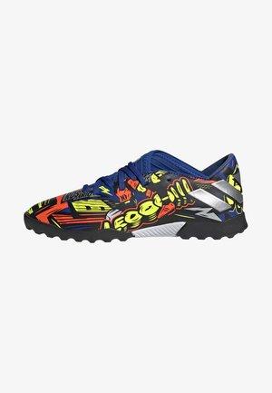 NEMEZIZ MESSI 19.3 FOOTBALL BOOTS TURF - Astro turf trainers - royblu/silvmt/syello