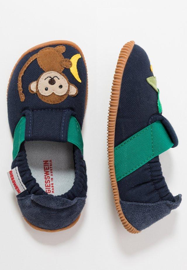 SAMERN - Slippers - dunkelblau