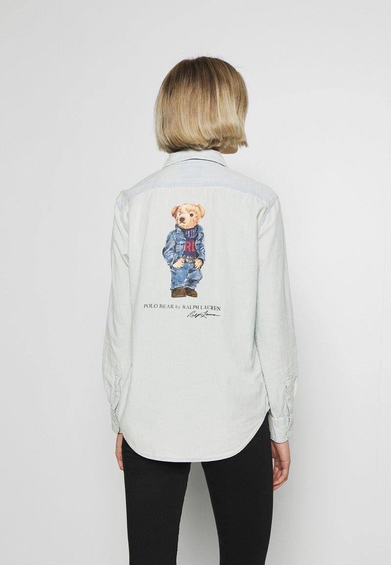 Polo Ralph Lauren - RELAXED LONG SLEEVE SHIRT - Košile - chambray