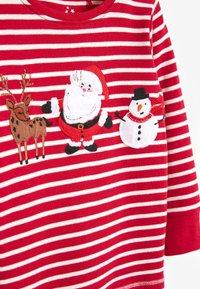 Next - CHRISTMAS APPLIQUÉ STRIPE - Pyjama set - red - 2