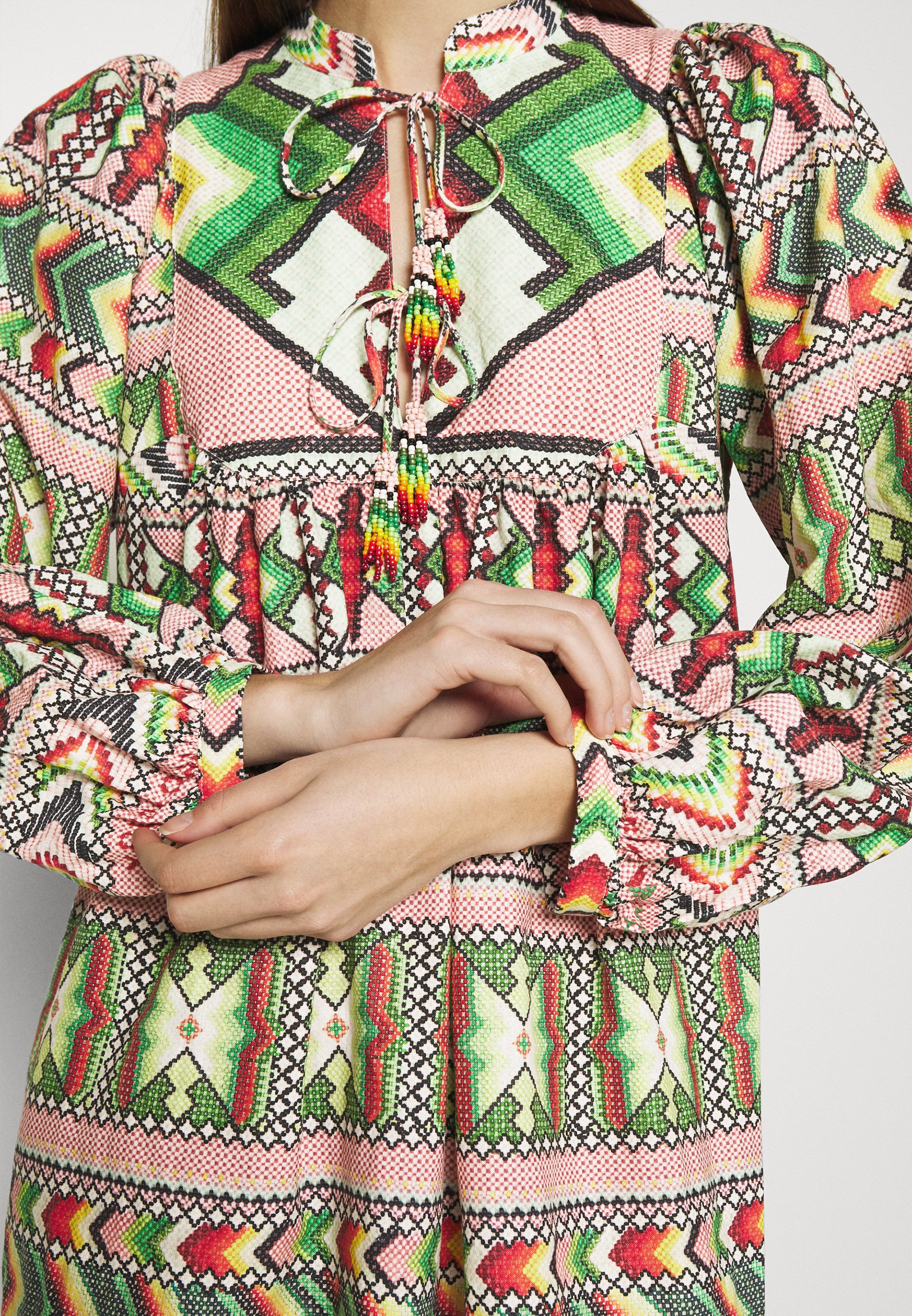 Women AMULET MIDI DRESS - Day dress